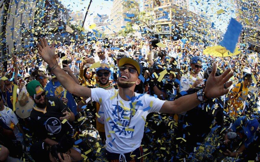 """Golden State Warriors"" čempioniškas paradas"