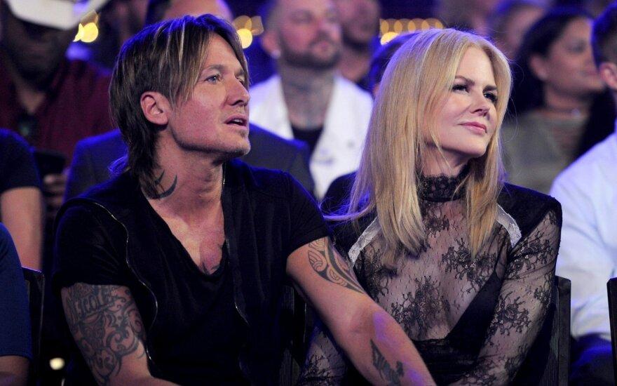 Nicole Kidman ir Keithas Urbanas