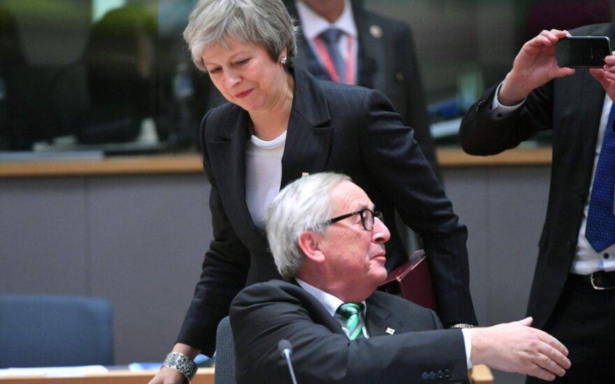Theresa May, Jeanas-Claude'as Junckeris