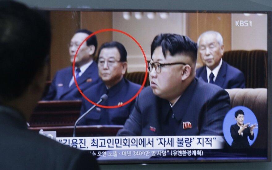 Seulas: Šiaurės Korėjoje įvykdyta egzekucija vicepremjerui