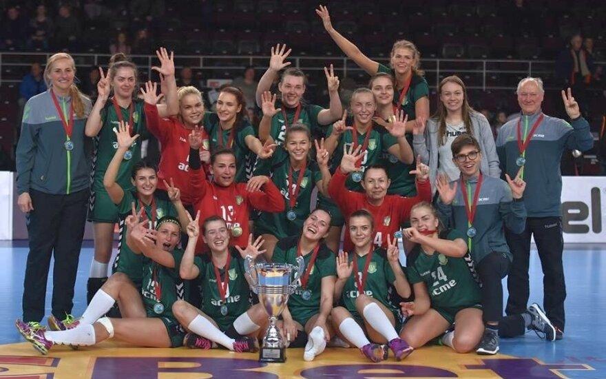 Abi Lietuvos rankinio federacijos taurės iškeliavo į Kauną