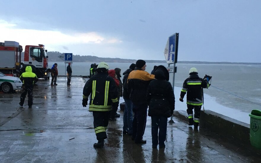 80 fishermen saved in rescue operation on Curonian Lagoon