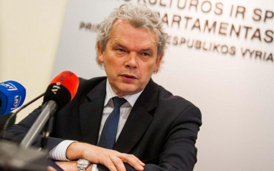 Vyriausybė neplanuoja K. Rimšelio atleisti iš pareigų
