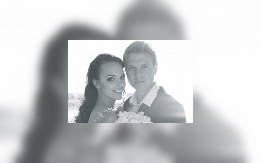 Evelina Anusauskaitė ir Adamas Youngas