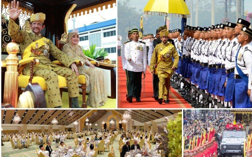 Brunėjaus sultono Hassanal Bolkiah valdymo jubiliejus