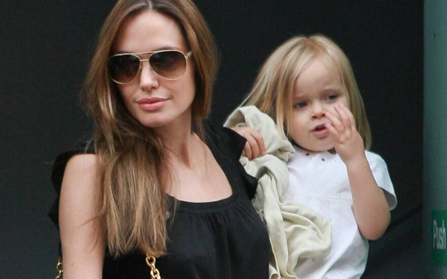 Angelina Jolie su dukra