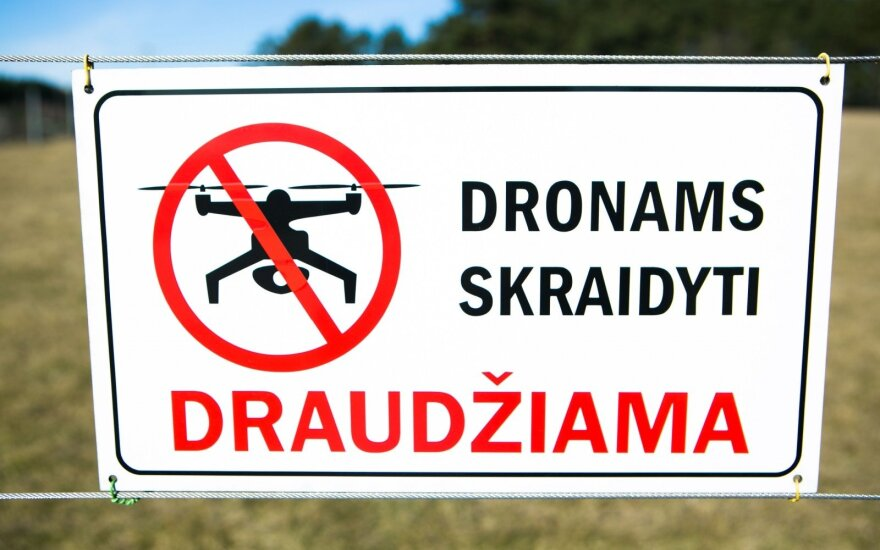 Drone flights prohibited