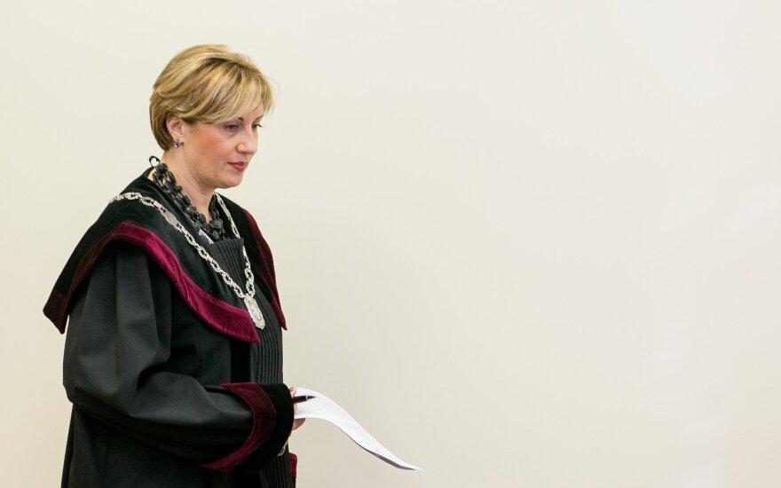 Teisėja Jolanta Bagdonienė