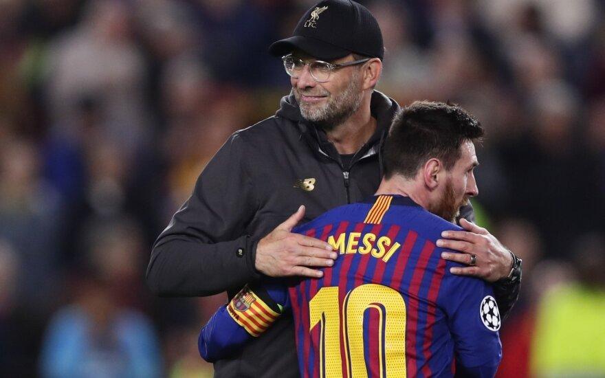 Jurgenas Kloppas, Lionelis Messi