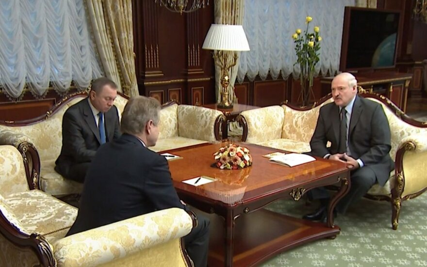 Лукашенко встретился с Паксасом