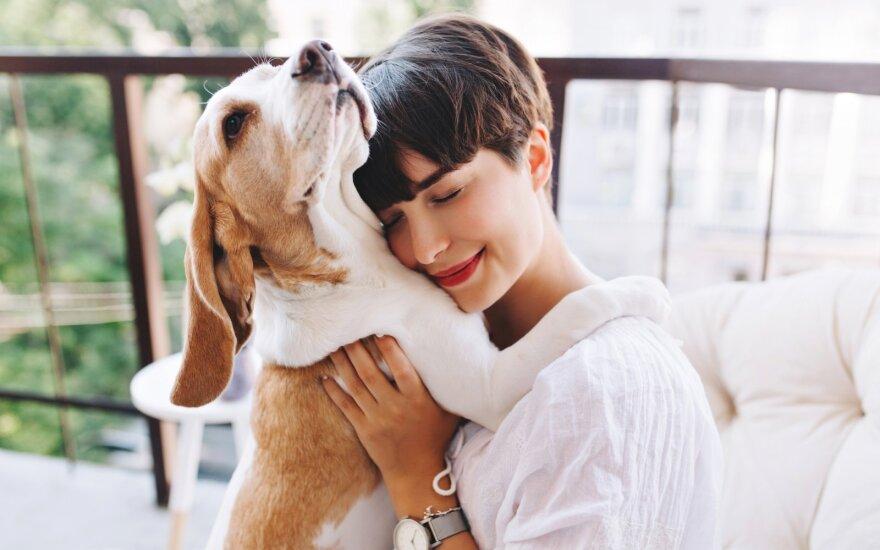 Šuo su šeimininke
