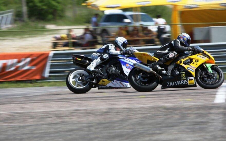 """Dolce Moto"" taurės motociklininkų lenktynės (L.Markevičiūtės nuotr.)"