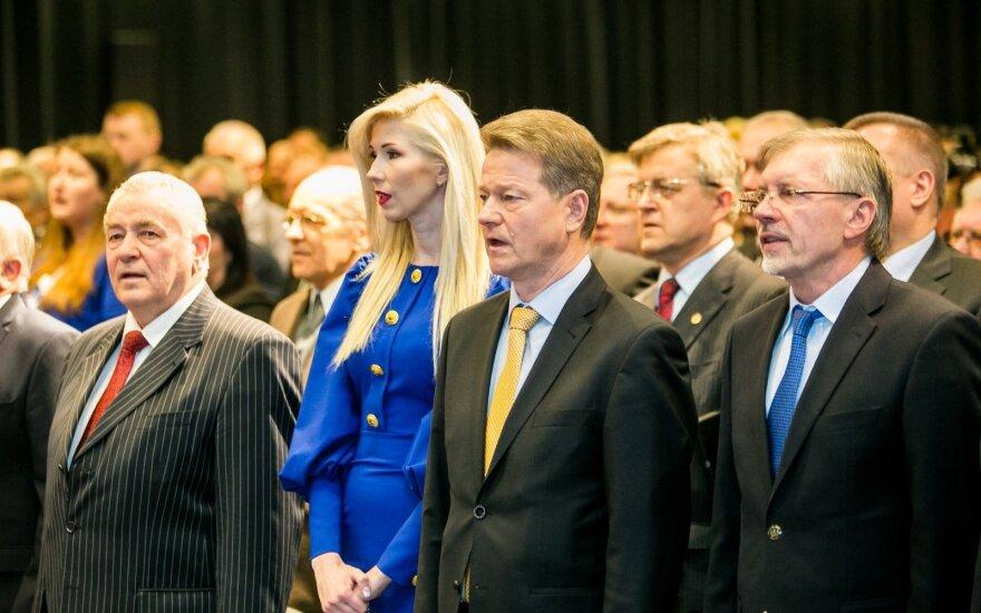 Inga Stumbrienė, Rolandas Paksas, Gediminas Kirkilas