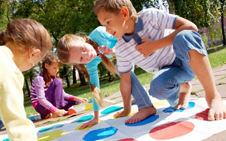 Vaikų užimtumas vasarą: receptas tėvams