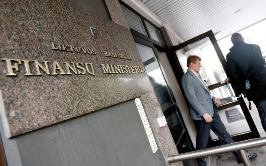 Finansų ministerija skelbs naujas prognozes, tikisi laipsniško ekonomikos atsigavimo