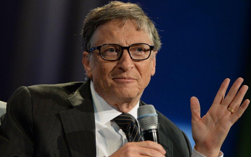 6 Billo Gateso patarimai norintiems daugiau uždirbti – sėkmė neateina už dyką