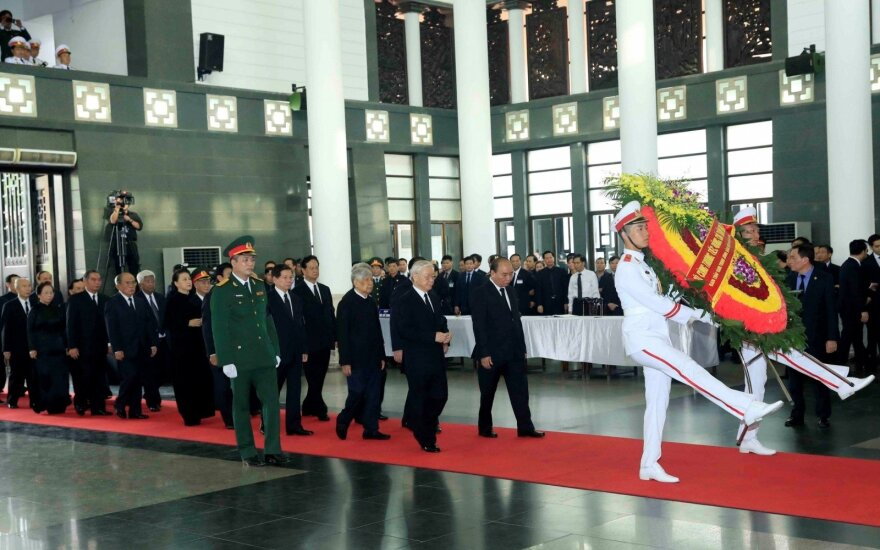 Vietnamo prezidento Tran Dai Quango laidotuvės