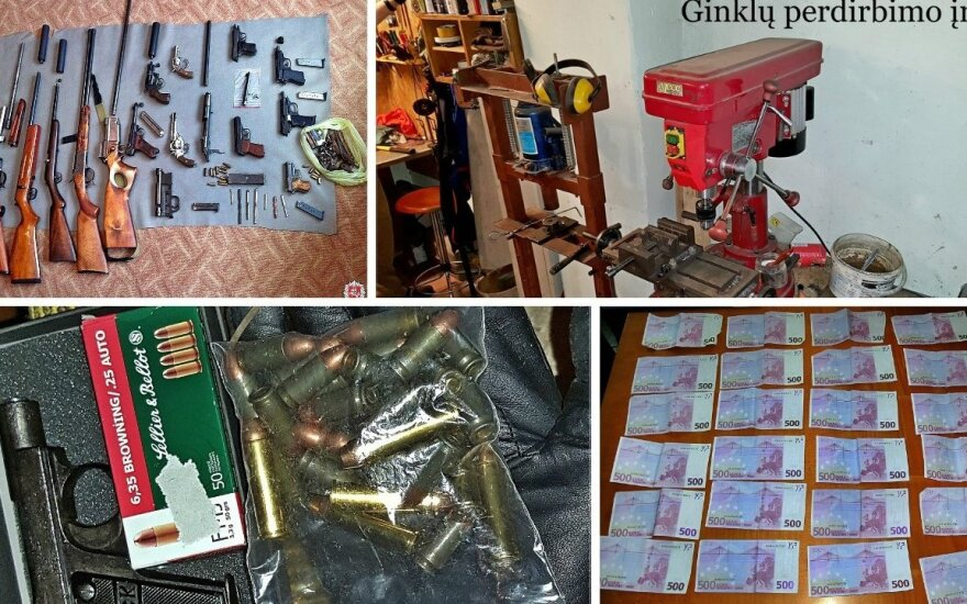 Police bust international arms smuggling ring headed by Lithuanians
