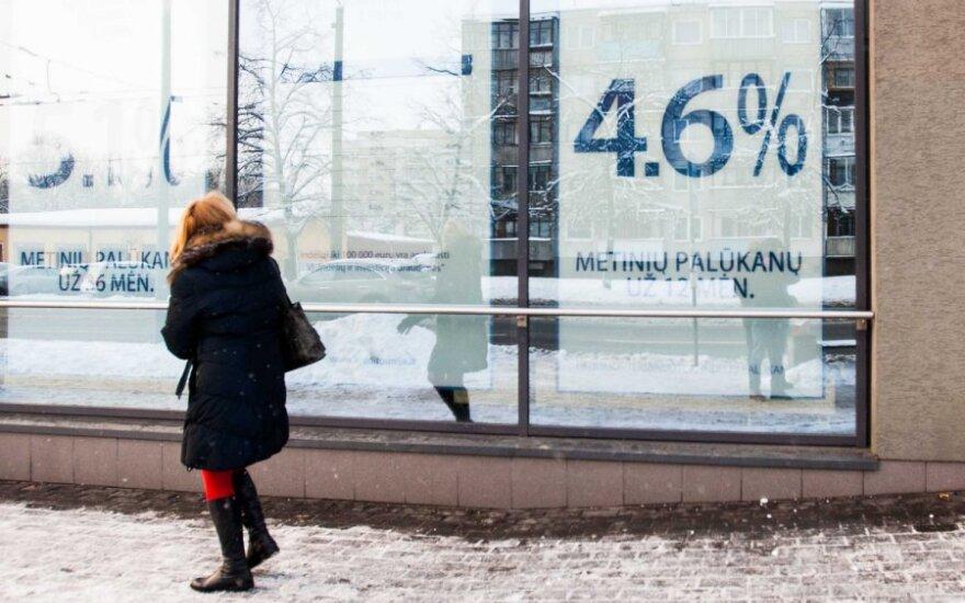 Kredito unijos šiemet uždirbo 3,3 mln. eurų pelno