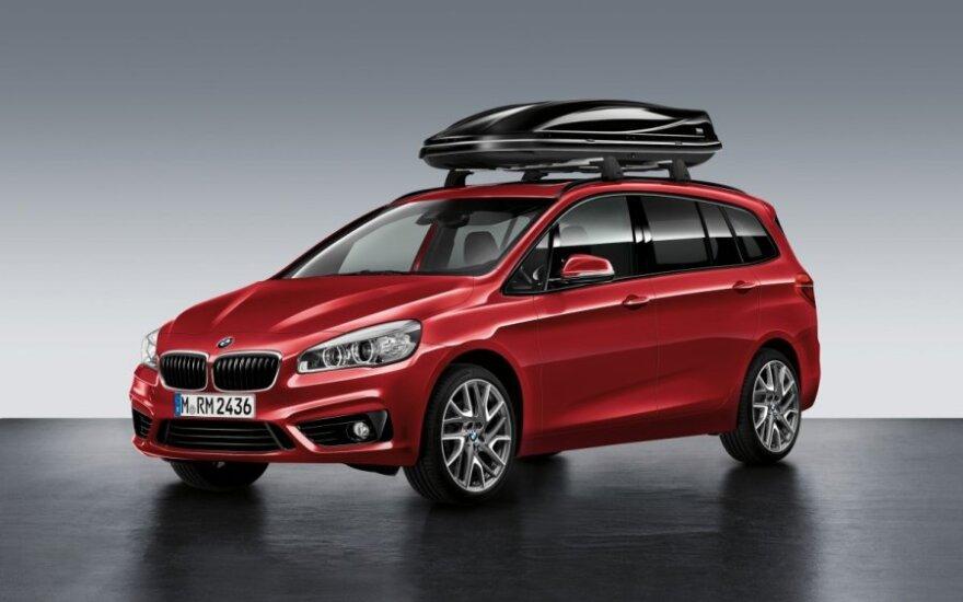 BMW 2-serijos Gran Tourer vienatūris