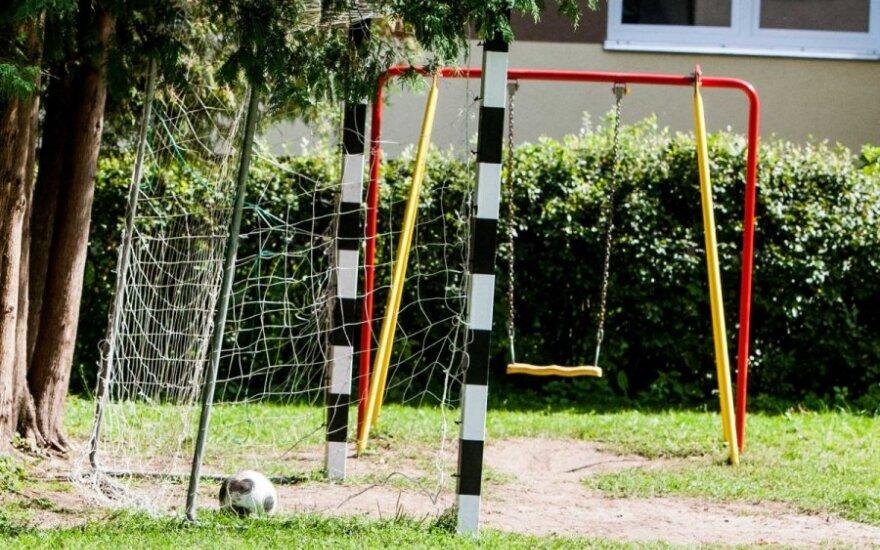 Žolyno gatvėje Vilniuje planuojama nauja futbolo treniruočių aikštė