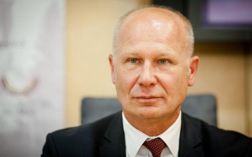 Vice-Minister Algirdas Šešelgis