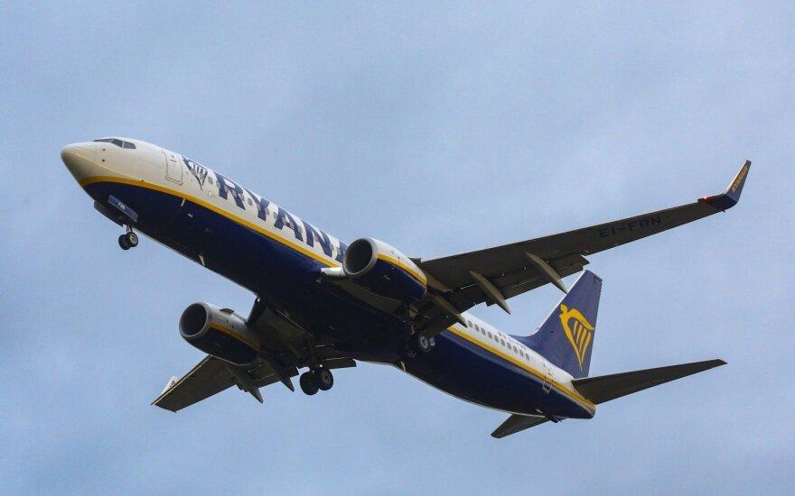 """Ispanijos pilotai pateikė ieškinį prieš """"Ryanair"""""""