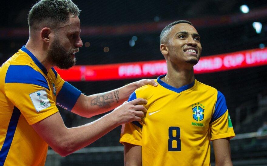 Leonardo (Nr. 8), Brazilija, FIFA pasaulio salės futbolo čempionatas (LFF feisbuko paskyra)
