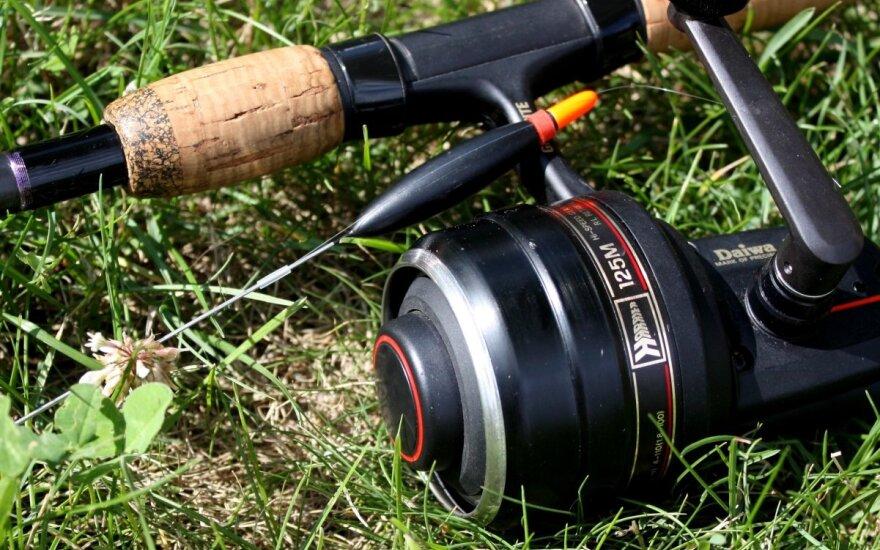 Vasaros žvejyba