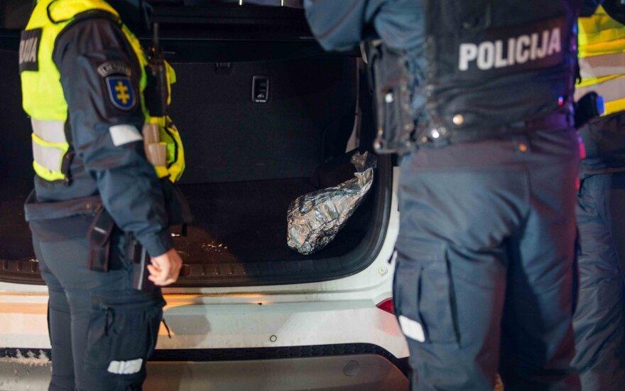 Vilniaus gimnazijos kieme rastas sprogmuo