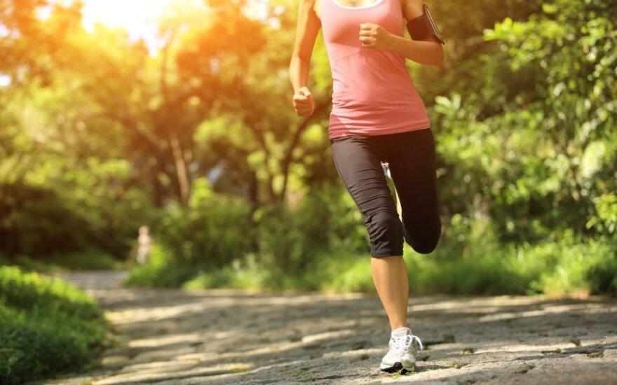 Kaip pasiruošti 5 km bėgimo distancijai per 10 dienų?