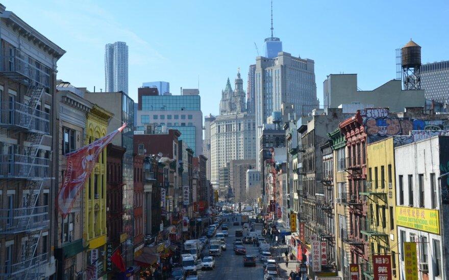 Kinų kvartalas Niujorke