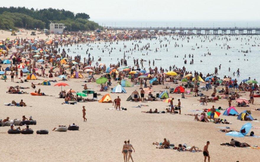 Atslenka antroji karščio banga: šią vasarą jau pasiekti rekordai gali būti ne pabaiga