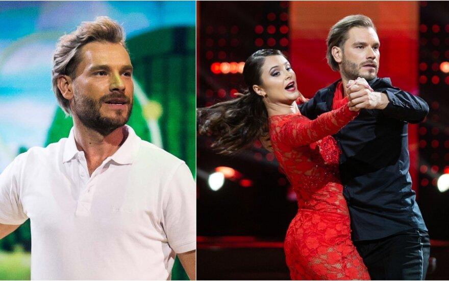 Simas Kučas su šokių partnere Melisa