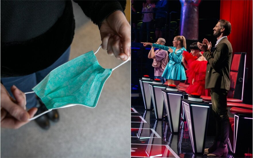 "Med.kaukė, ""Lietuvos balso"" komanda / Foto: Delfi, LNK"