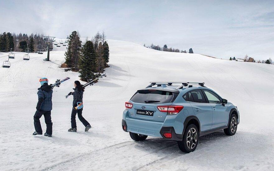 """Naujosios kartos """"Subaru XV"""""""