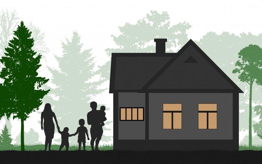 Parama būstui jaunoms šeimoms
