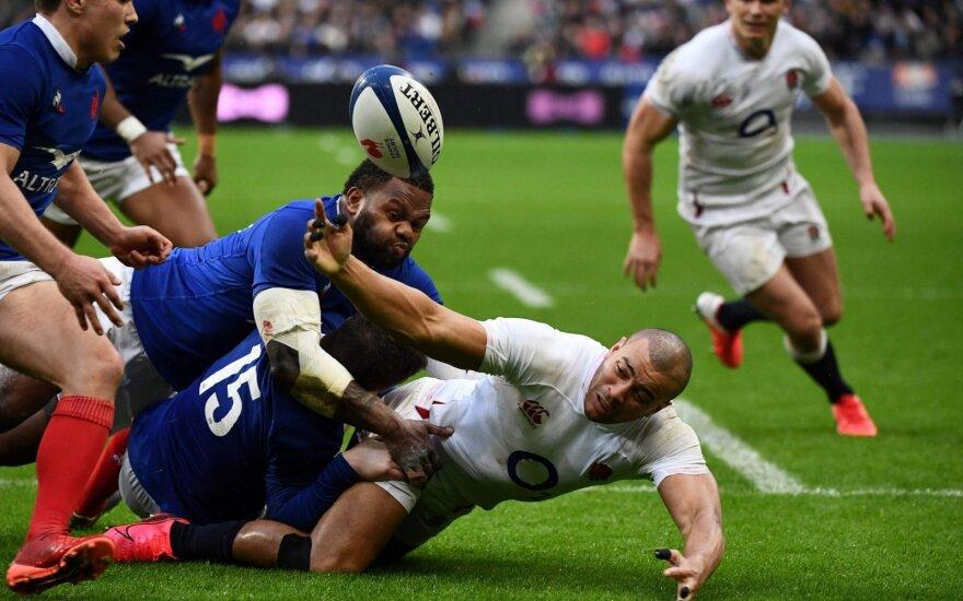 Regbio rungtynės: Prancūzija - Anglija
