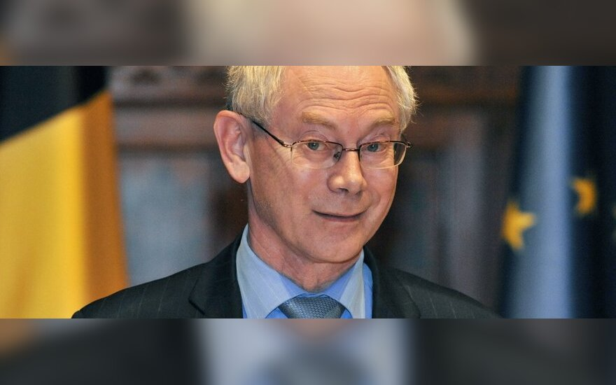 H.Van Rompuy ragina Egiptą imtis reformų