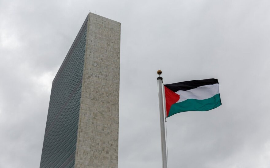Palestinians consider opening embassy in Vilnius, ask for state recognition