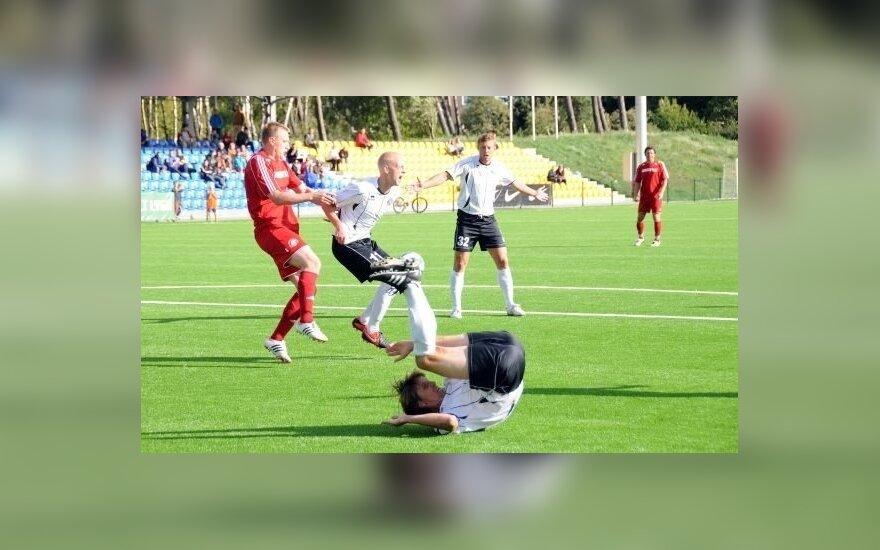 """Klaipėdos granito"" futbolininkai (klaipedos-granitas.lt nuotr.)"