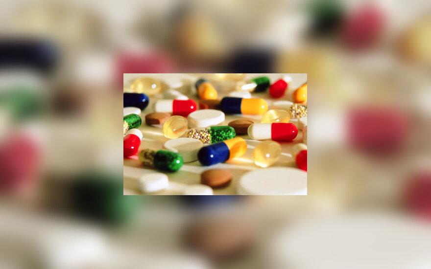 vaistai, tabletės