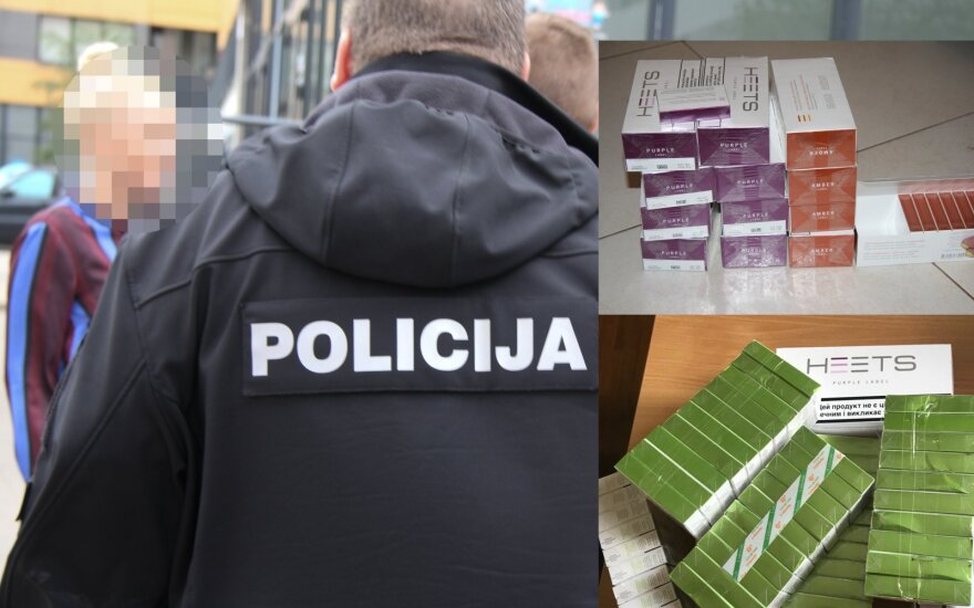 Netikėti policijos veiksmai Vilniuje: už kaitinamųjų cigarečių platinimą gresia atsakomybė ir banko teisininkas