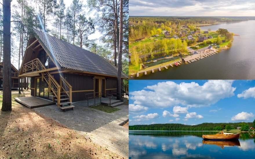 Rado kelis kartus pigesnę Nidos alternatyvą Lietuvoje: vandens pramogų, jaukių namelių gausybė, o kainos nesikandžioja