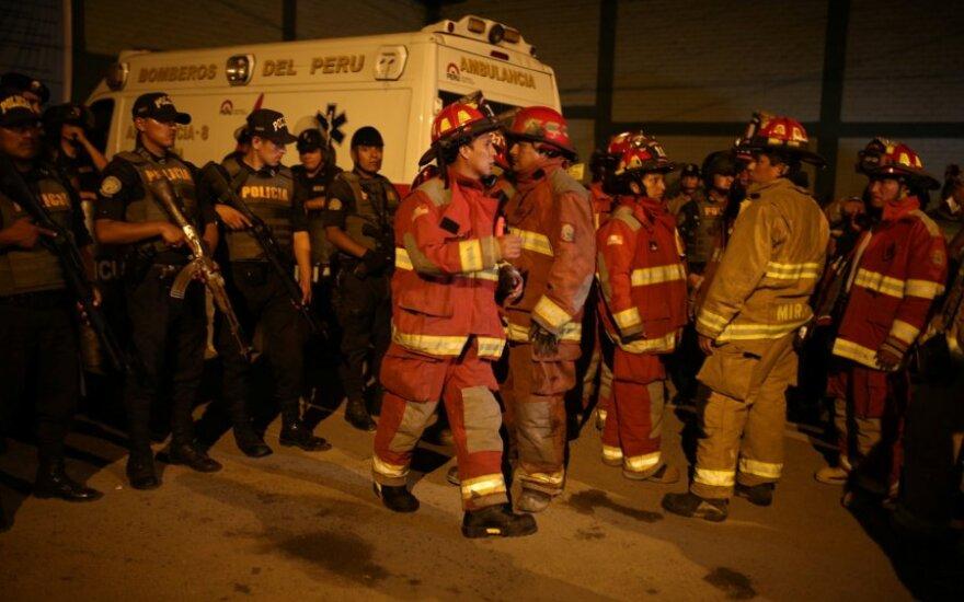 Ugniagesiai gelbėtojai, Peru