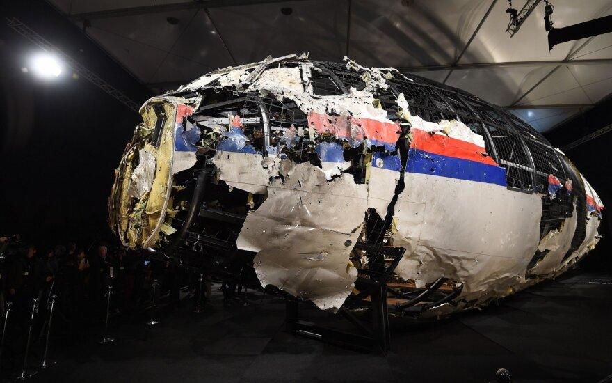 Rusija kratosi atsakomybės dėl MH17 lėktuvo numušimo