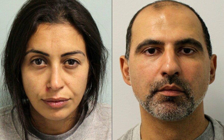 Auklę prancūzę nužudžiusi londoniečių pora nuteista kalėti iki gyvos galvos