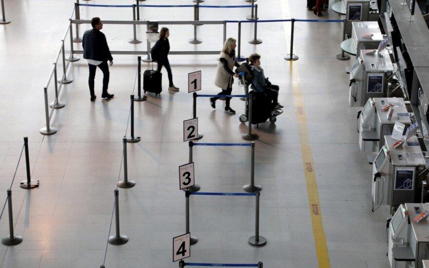 Dėl pilotų streiko kitą savaitę bus atšaukta šimtai skrydžių