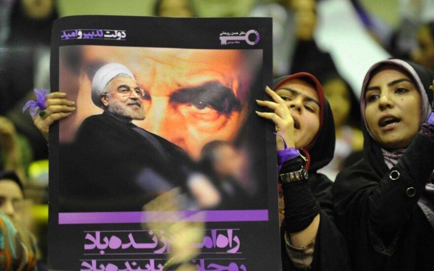 Hassano Rouhani atvaizdas