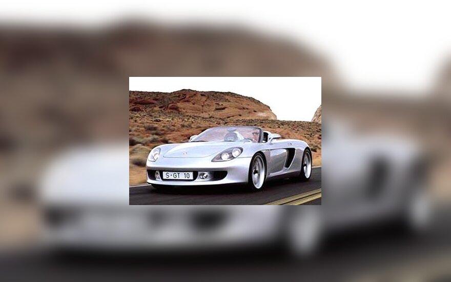 """""""Porsche Carrera GT"""" automobilis"""